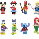 The Nutcracker Tinker Bell Ariel Minifigures Lego Compatible movie Toy
