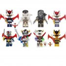 Great Mazinger The Predator Minifigures Lego Compatible movie Toy