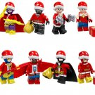 Christmas gift Batgirl Black Panther Captain Marvel Minifigures Lego Compatible Toy