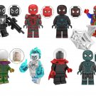 Agent Venom Ghost Spider-Man Mysterio Minifigures Lego Compatible Spider-Man Homecoming Toy