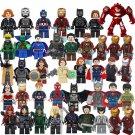 40pcs Avengers Justice League Minifigures Lego Compatible movie series