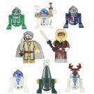 Han Solo R2-D2 R3-D5 R7-D4 Minifigures Lego Compatible Star Wars Toy