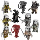 Alien vs. Predator movie series Minifigures Lego Compatible Toy