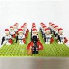 21pcs Santa Claus Imperial Stormtrooper  Darth Vader Minifigures Lego Compatible Toy