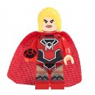 Red Lantern Super Girl Minifigures Lego Compatible Justice League Toy