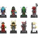 Krux Vermin Samurai X The wei snake Minifigures Lego Compatible Ninjago sets