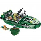 12in1 Military Speedboat H1Z1 Game Minifigures Lego Compatible Toy