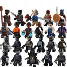 Black Panther Movie Character minifigures Compatible Lego Toy Avengers Minifigure