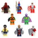 Hell Boy Marvel Melter Prowler Luke Cage Minifigures Lego Compatible Super Heroes Toy