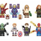 Doctor Octopus Hawkeye Spider-Man MK85 Pepper Minifigures Lego Compatible Avengers sets