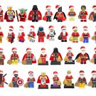 35pcs Christmas Minifigures Star Wars Super Heroes Lego Compatible Toy