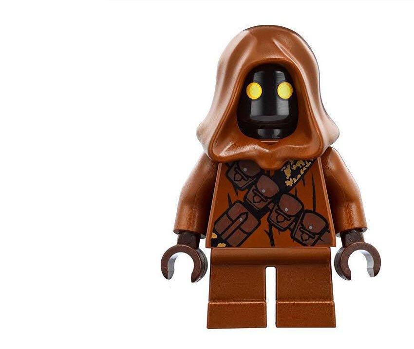 Jawas Minifigures Lego Compatible Star Wars Toy