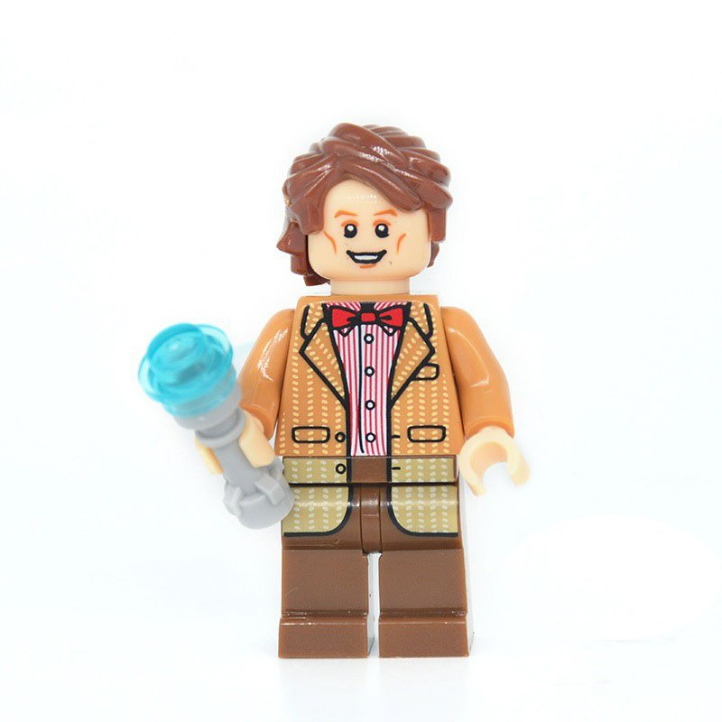 Matt Smith Minifigures Lego Compatible Toy