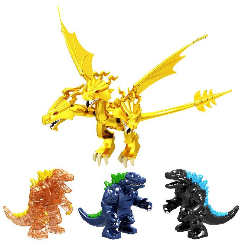 Godzilla King Ghidorah building block Toy Lego Compatible Godzilla 2019
