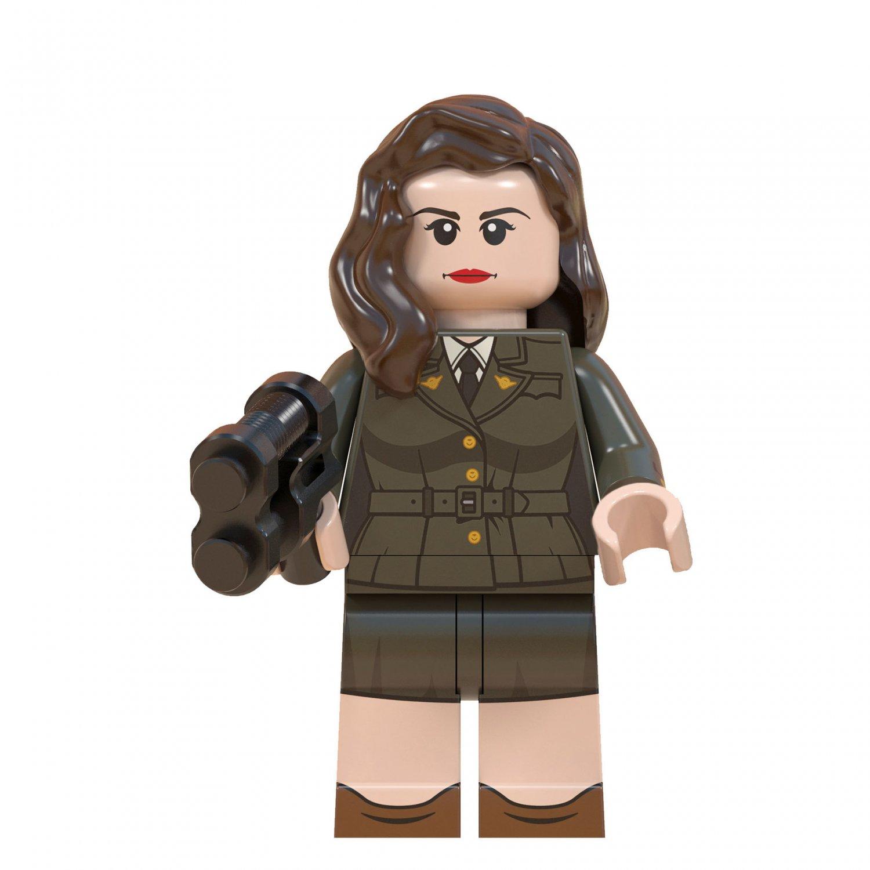 Carter Minifigures Lego Compatible Avengers Toy