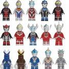 15pcs Japan Comic Hurricane Slash Thunder Breastar Minifigures Lego Compatible Halloween gift