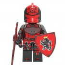 Red Knight Minifigures Lego Compatible Fortlegend set