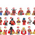 20pcs Christmas gift Star Wars Santa Claus Minifigures Lego Compatible Toy