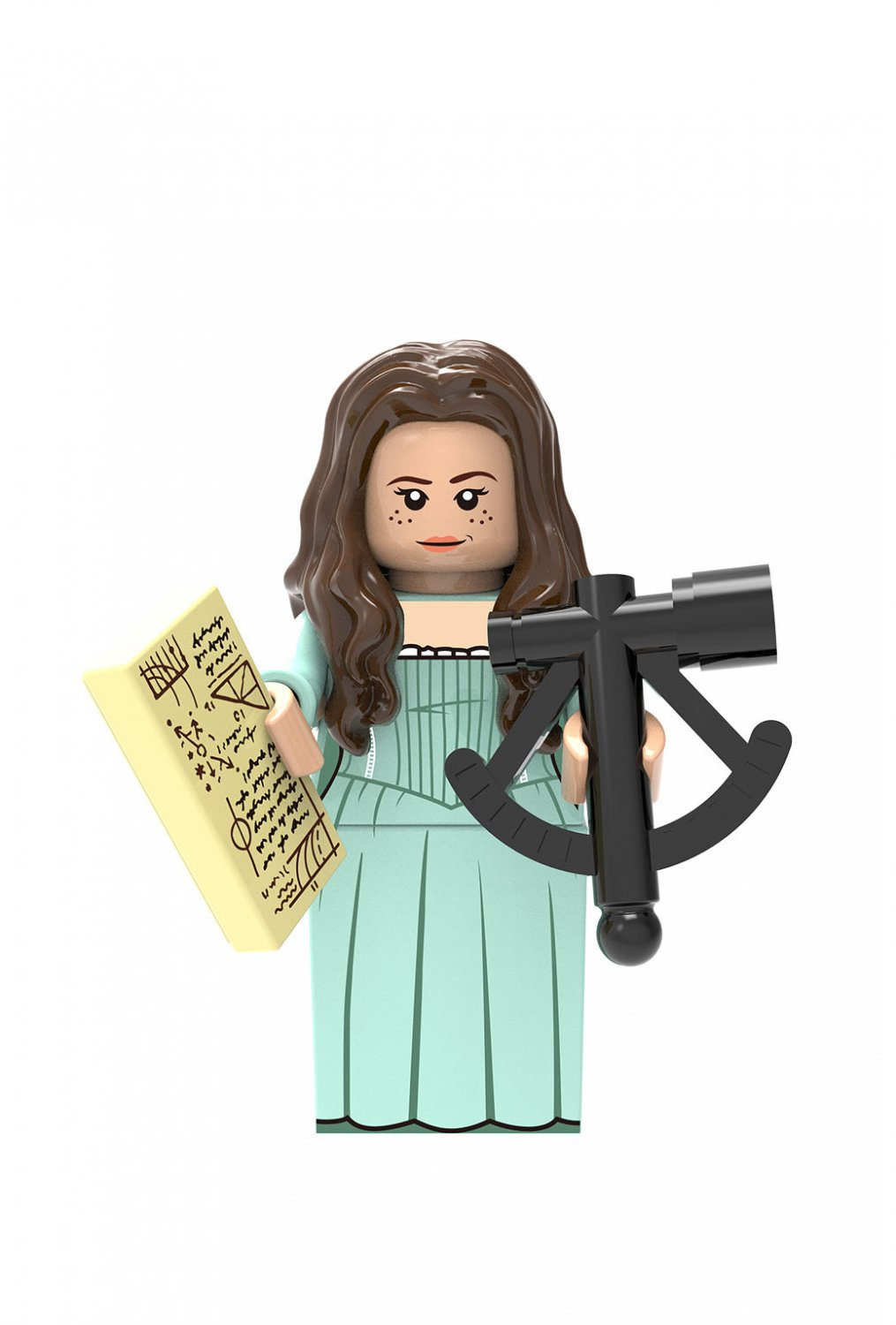 Carina Minifigures Lego Compatible Pirates of the Caribbean Toy