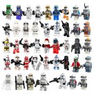 43pcs Star Wars Clone Trooper Imperial Stormtrooper Minifigures Lego Compatible Toy