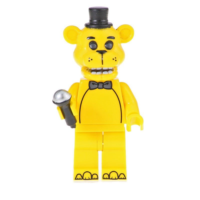 Golden Freddy Minifigures Lego Compatible five nights at freddy's Toy