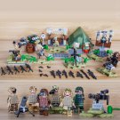 Marine Corps Island base Minifigures Lego Compatible WW2 soldiers
