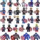 28pcs Captain America Minifigures Lego Compatible Avengers series