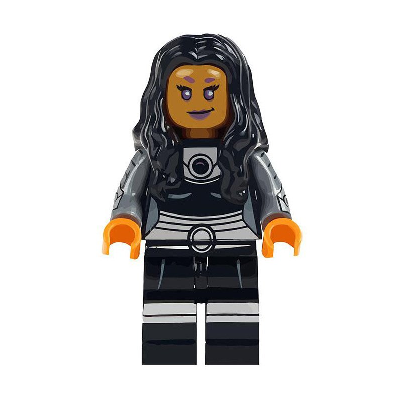 Starfire Minifigures Lego Compatible Super Heroes Toy