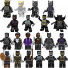 20pcs Black Panther movie character Minifigures Lego Compatible Super Heroes set