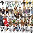 47pcs Star Wars Character Minifigures Clone Trooper Jedi Lego Compatible Toy