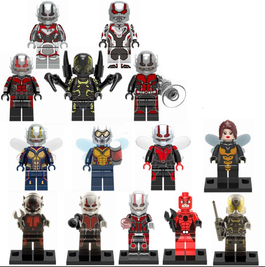 14pcs Ant-Man movie character Minifigures Lego Compatible Avengers sets
