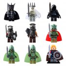Lord Of The Rings Witch-King King Of The Dead Mordor Orc Minifigures Lego Compatible Toy