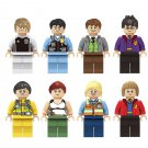 Harry Potter Captain America Germany football team Minifigures Lego Compatible Kids Gift