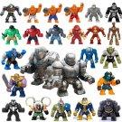 24pcs Big Avengers Super Heroes Bane Venom Minifigures Lego Compatible Toy