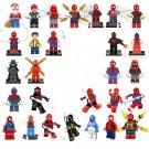 28pcs Spider-Man movie series Minifigures Lego Compatible Christmas Minifigure
