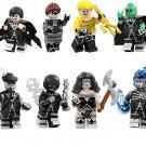 8pcs Black Lantern Super Heroes Set Minifigures Lego Compatible Toy