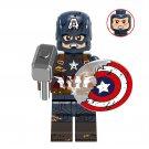 Steve Rogers Minifigures Lego Compatible Avengers 4 Toy
