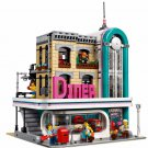 City Street Series Restaurant building block Toy Lego Christmas Gifts Compatible