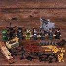 WW2 Base German army defense Base Minifigures Lego Compatible Toy