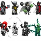 Domino Riot Venom Minifigures Lego Venom big fig Compatible