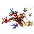 8in1 Iron Man fighter Minifigures Lego Compatible Toy