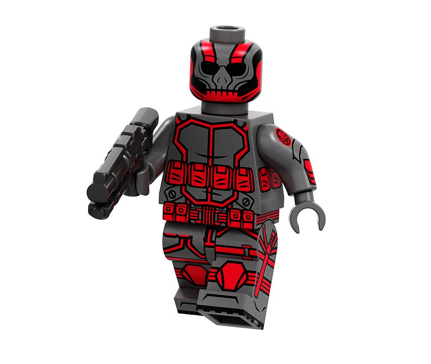 Hydra soldier Minifigures Lego Compatible Hydra army