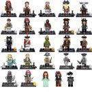 Pirates of The Caribbean black pearl Minifigures Lego Pirate Ship set Compatible