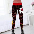 Kansas City Chiefs Legings Yoga Pants Jogging Leggings