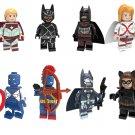Consul Greta Hayes Captain Lieutenant  Catwoman Minifigures Lego Compatible Superheroes sets