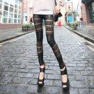 Lace Leather Leggings fashion leggings