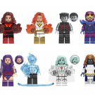 Iceman White Queen Mystique Sentinel Minifigures Lego Compatible X-Men 2019