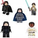 Rey Finn Kylo Ren Minifigures Lego Compatible Star Wars 2019 The Rise of Skywalker