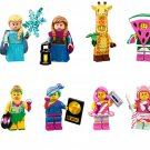 Hula Lula Lucy Candy Rapper Kitty Pop Star Minifigures Lego Compatible Minifigures sets