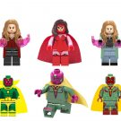 Scarlet Witch Vision Minifigures Lego Compatible Avengers 2019